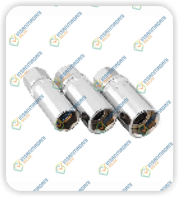 3pcs Magnetic Spark Plug Socket Set 16, 18, & 21mm